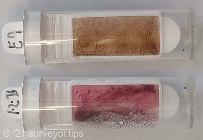 I tested for mould spores. Growth on the medium confirms presence of significant mould growth.